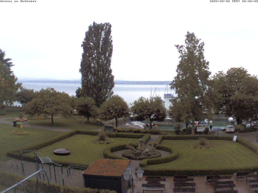 Webcam Hagnau, Blick auf Osthafen